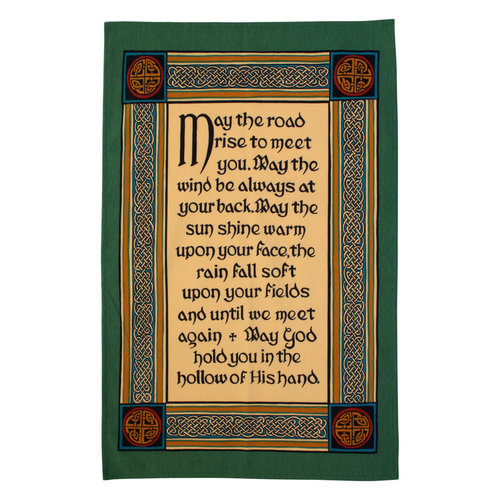 Ulster Weavers Ulster Weavers Celtic Blessings 2 Tea Towel