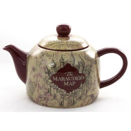 Harry Potter Marauders Map Ceramic Teapot