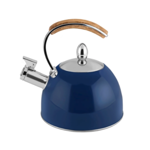Pinky Up Presley Navy Tea Kettle