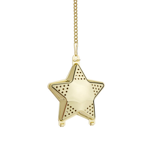 Pinky Up Gold Star Tea Infuser