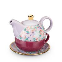 Addison Wildflower Purple Tea For One Set