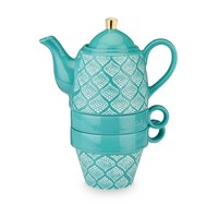 Taylor Bali Turquosie Tea For Two