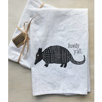 Armadillo Tea Towel
