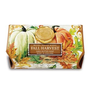 Michel Design Works Michel Fall Harvest Large Bath Soap Bar