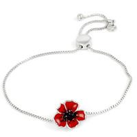 Poppy Slider Bracelet