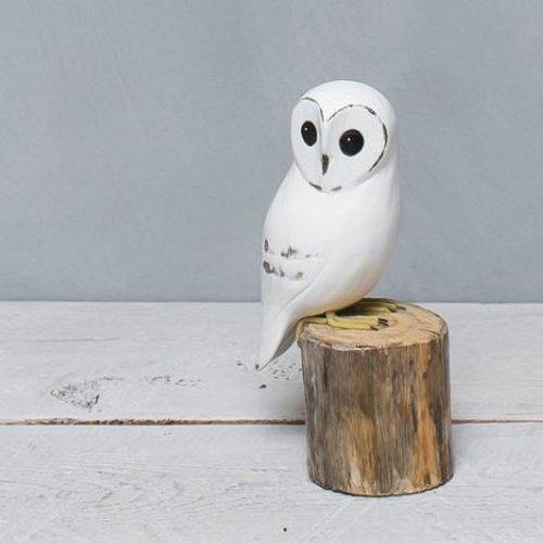 Aviologie Aviologie Standing Small  White Owl
