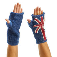 Peruvian Trading Co. Fingerless Gloves Union Jack