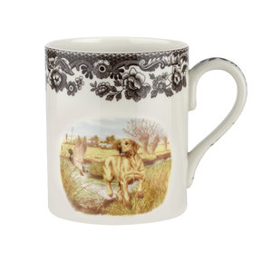 Spode Spode Woodland Mug Yellow Lab