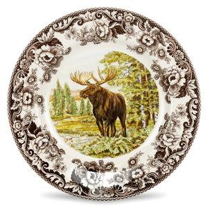 Spode Spode Woodland 27cm Dinner Plate Moose
