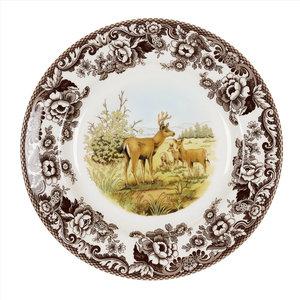 Spode Spode Woodland 27cm Dinner Plate Mule Deer