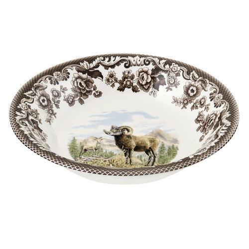 Spode Spode Woodland Ascot Cereal Bowl Bighorn Sheep