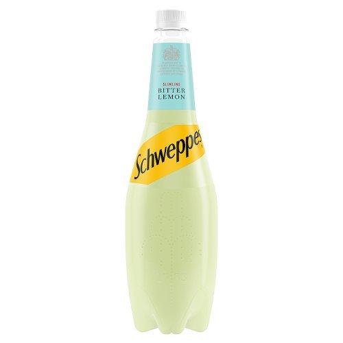 Schweppes Schweppes Slimline Bitter Lemon 1L