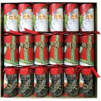 Caspari Santa Claus Lane Crackers 6 Count