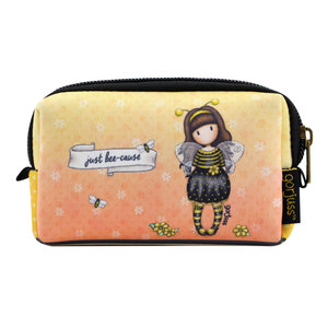 "Santoro London Gorjuss ""Bee-Loved"" Neoprene Accessory Pouch"