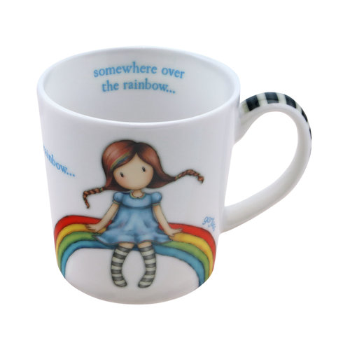 "Santoro London Gorjuss ""Rainbow Heaven"" Small Mug"