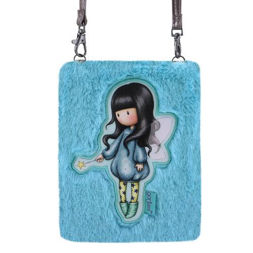 "Santoro London Gorjuss ""Bubble Fairy"" Fuzzy Shoulder Bag"
