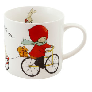 Santoro London Poppi Mug Large - Bike Rides