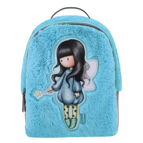 "Santoro London Gorjuss ""Bubble Fairy"" Fuzzy Backpack"