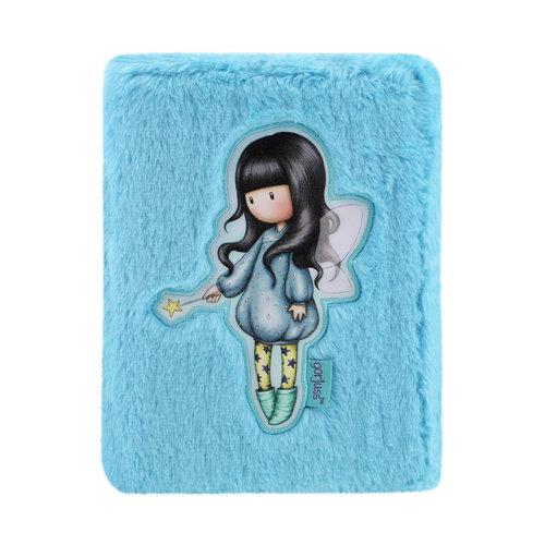 "Santoro London Gorjuss ""Bubble Fairy"" Fuzzy Wallet"
