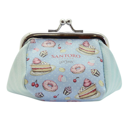 "Santoro London Gorjuss ""Sweet Cake"" Clasp Purse"