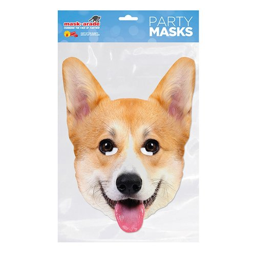 Mask-arade Corgi Mask