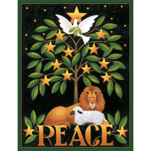 Caspari Peace Boxed Christmas Cards