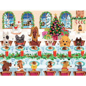 Caspari The Pets Table Advent Calendar