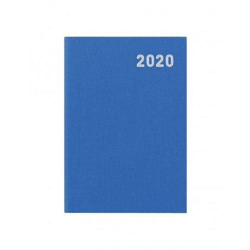 Letts of London Principal Brights Mini Pocket Week to View Diary 2020 Blue