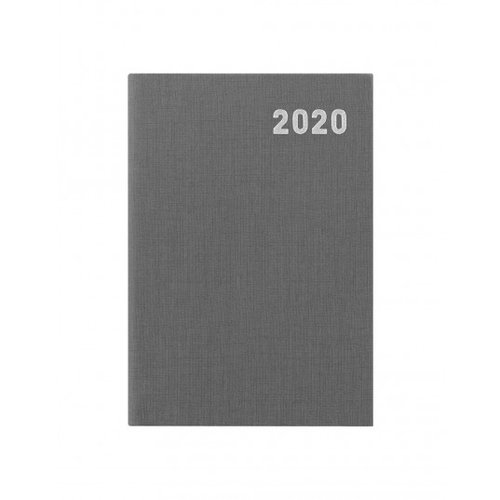 Letts of London Principal Brights Mini Pocket Week to View Diary 2020 Grey