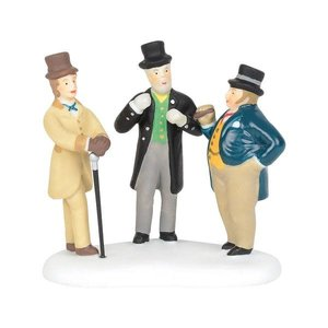 Dickens Village Cornhill Bankers