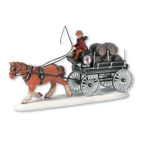 Dickens Village Dickens' Village Series - Red Lion Pub Beer Wagon