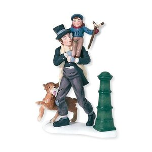 Dickens Village Dickens' Village Series - Bob Cratchit & Tiny Tim