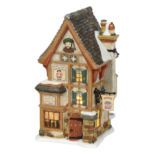 Dickens Village Dickens' Village Series - Olde Pearly's Toby Jugs