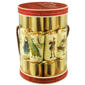 Robin Reed 12 Days of Christmas Cylinder - 12 Count