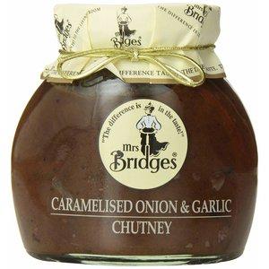 Mrs. Bridges Mrs Bridges Caramelized Onion and Garlic Chutney 10.5oz