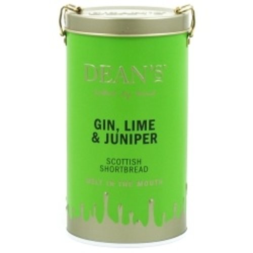 Deans Gin Lime and Juniper Scottish Shortbread