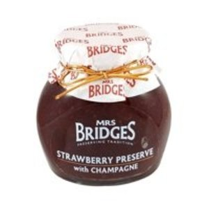 Mrs. Bridges Mrs Bridges Strawberry Preserve with Champagne 4oz