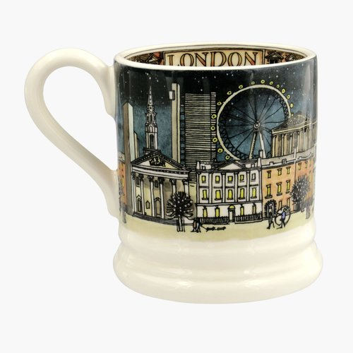 Emma Bridgewater Emma Bridgewater London At Christmas 1/2 Pint Mug