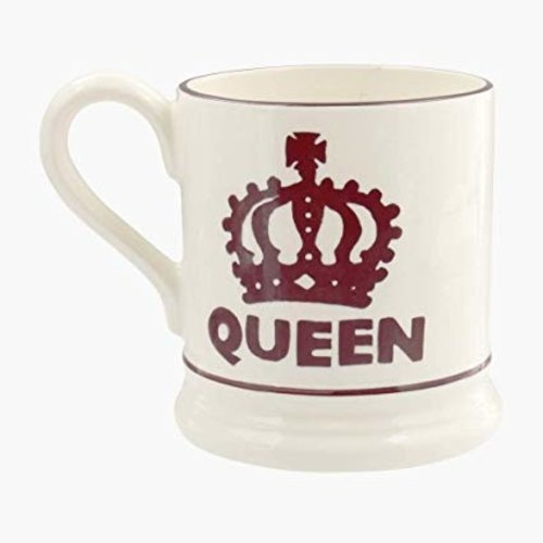 Emma Bridgewater Emma Bridgewater The Queen 1/2 Pint Mug
