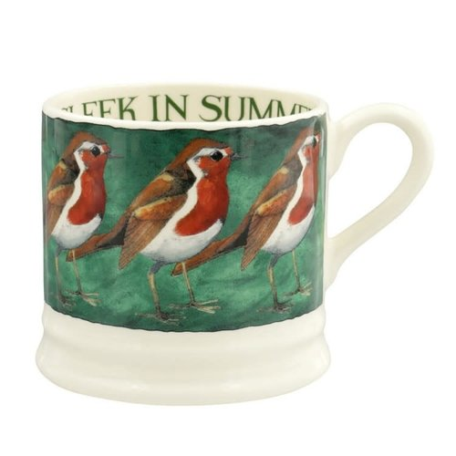 Emma Bridgewater Emma Bridgewater Robin On the Green Small Mug