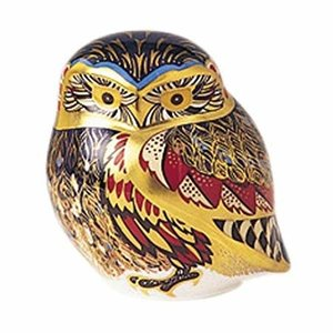 Royal Crown Derby Little Owl Ceramic