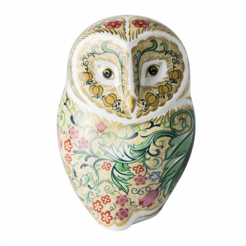 Royal Crown Derby Royal Crown Derby Parchment Owl