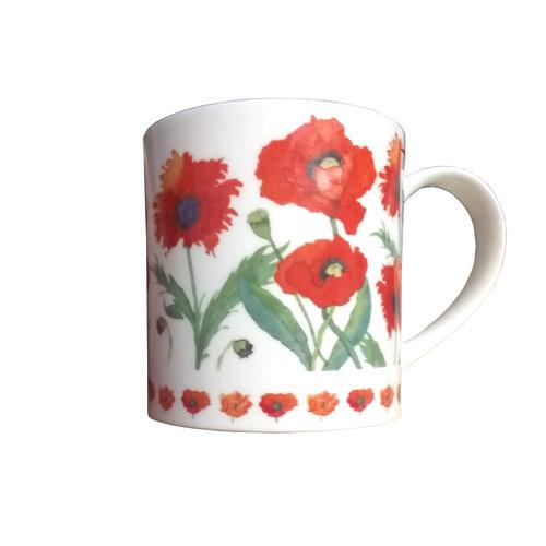 Dunoon Dunoon Orkney Garden Flowers Poppies Mug