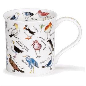 Dunoon Bute Birdlife Coastal Birds Mug