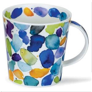 Dunoon Cairngorm Blobs! Blue Mug