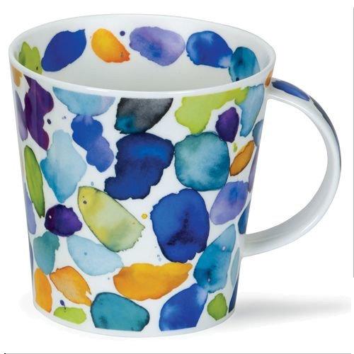 Dunoon Dunoon Cairngorm Blobs! Blue Mug
