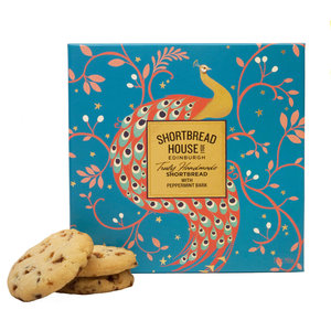 Shortbread House of Edinburgh Shortbread House of Edinburgh Peppermint Peacock Shortbread