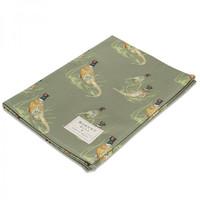 Mosney Mill Pheasant Tea Towel Sage Green