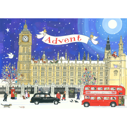 Alison Gardiner Palace of Westminster Paper Advent Calendar
