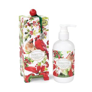 Michel Design Works Poinsettia Hand & Body Lotion